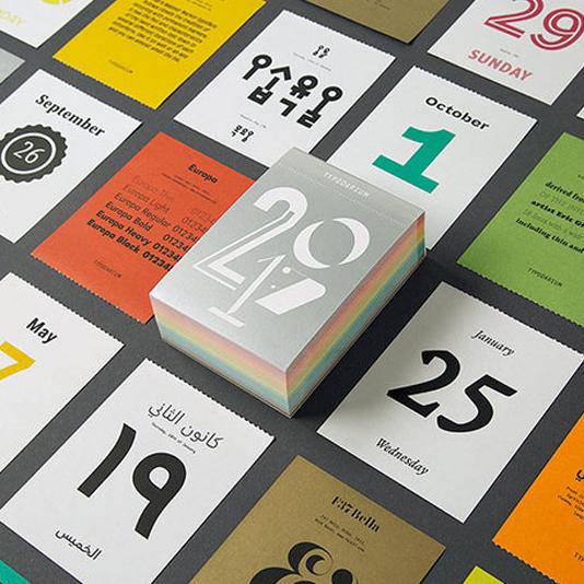 Calendario A Strappo.Typodarium Il Calendario A Strappo Per I Feticisti Dei