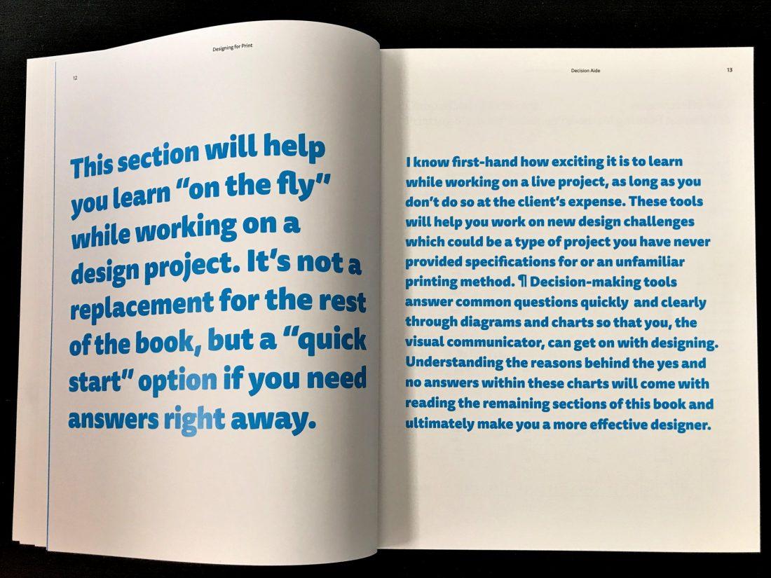 """Designing for Print"", Marina Poropat Joyce"