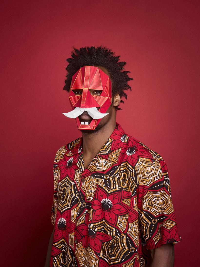 Le maschere di carta per il Grec Festival di Barcellona - Lobulo Studio