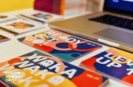 Cartoline del TGD stampate da Printaly © Torino Graphic Days