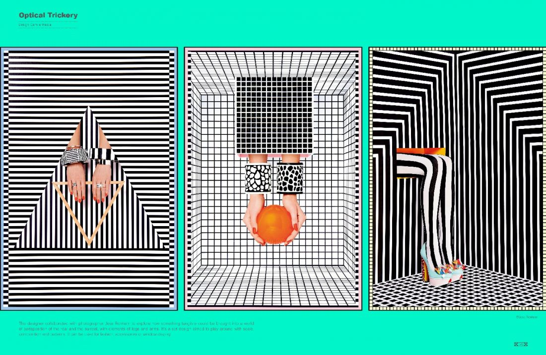 Magical Geometry. Pattern in Graphic Design