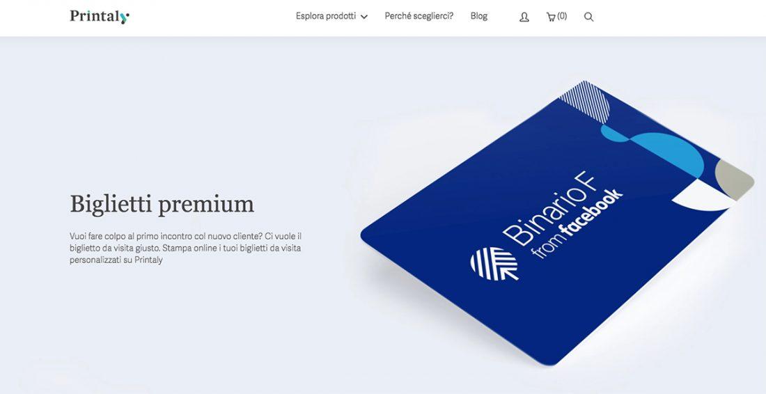 Il nuovo sito di Printaly è online! Più pulito, più bello e più funzionale