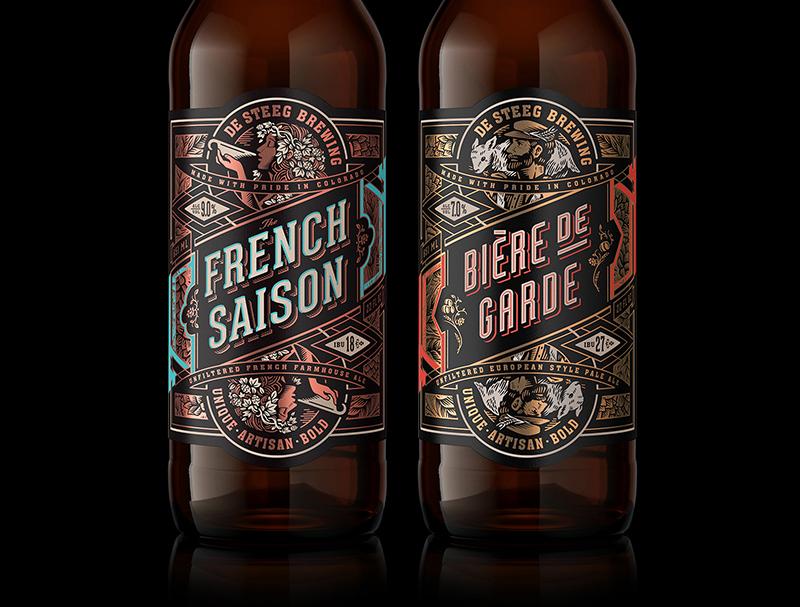Il nuovo packaging del birrificio De Steeg Brewing