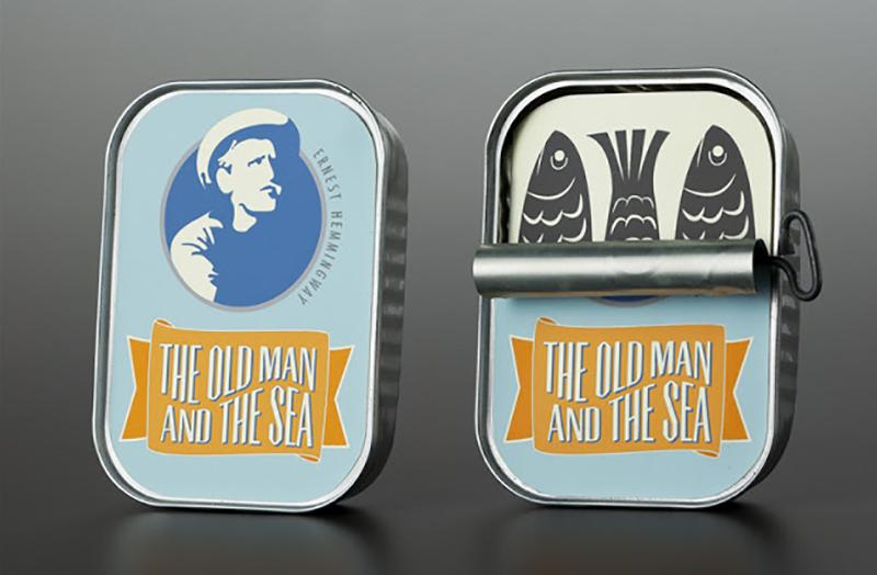 """""""Il vecchio e il mare"""", il packaging di Nina Cornelison"""