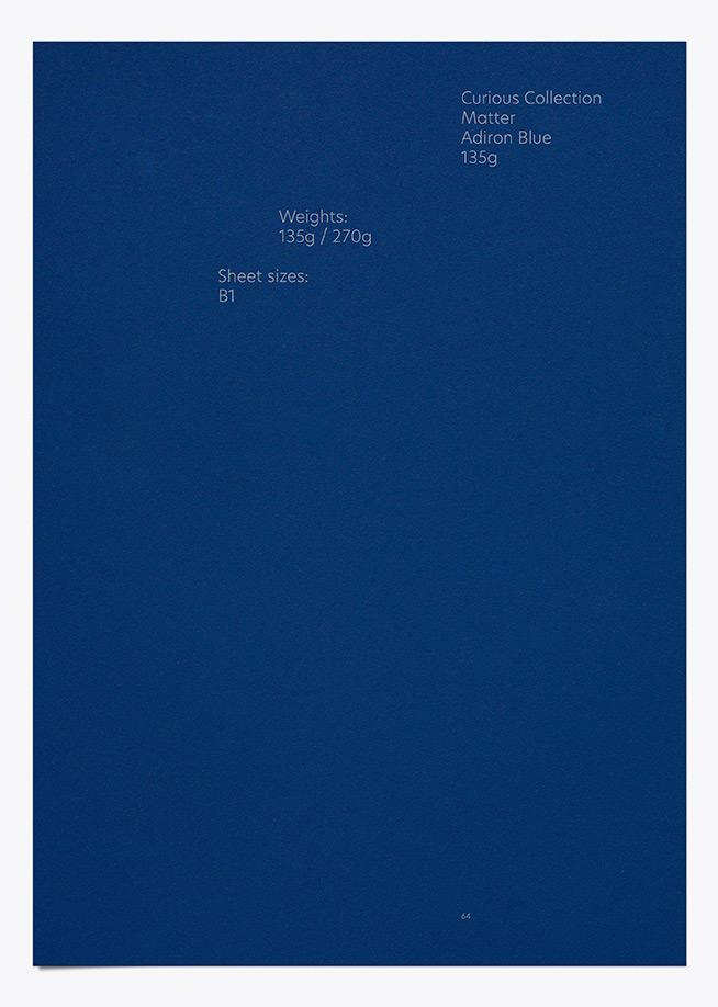 Curious Matter - Adiron Blue