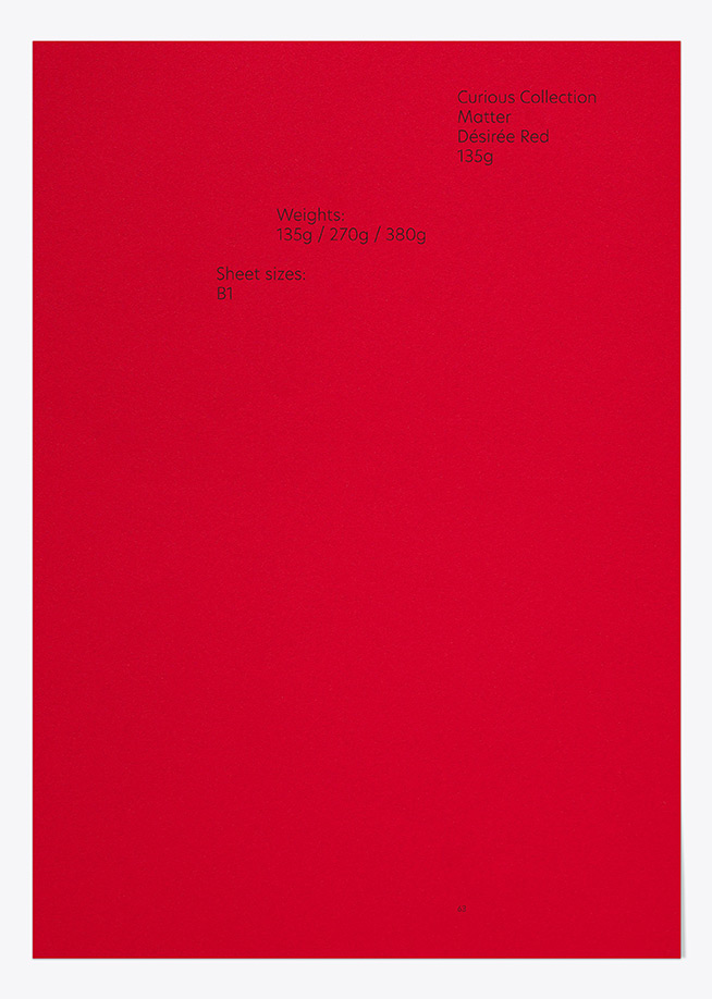 Curious Matter - Désirée Red