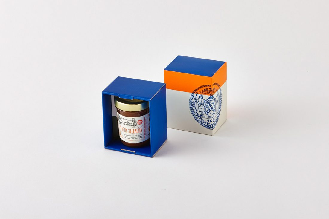 Cook & Nelson. Un packaging innovativo per un tradizionale cesto regalo