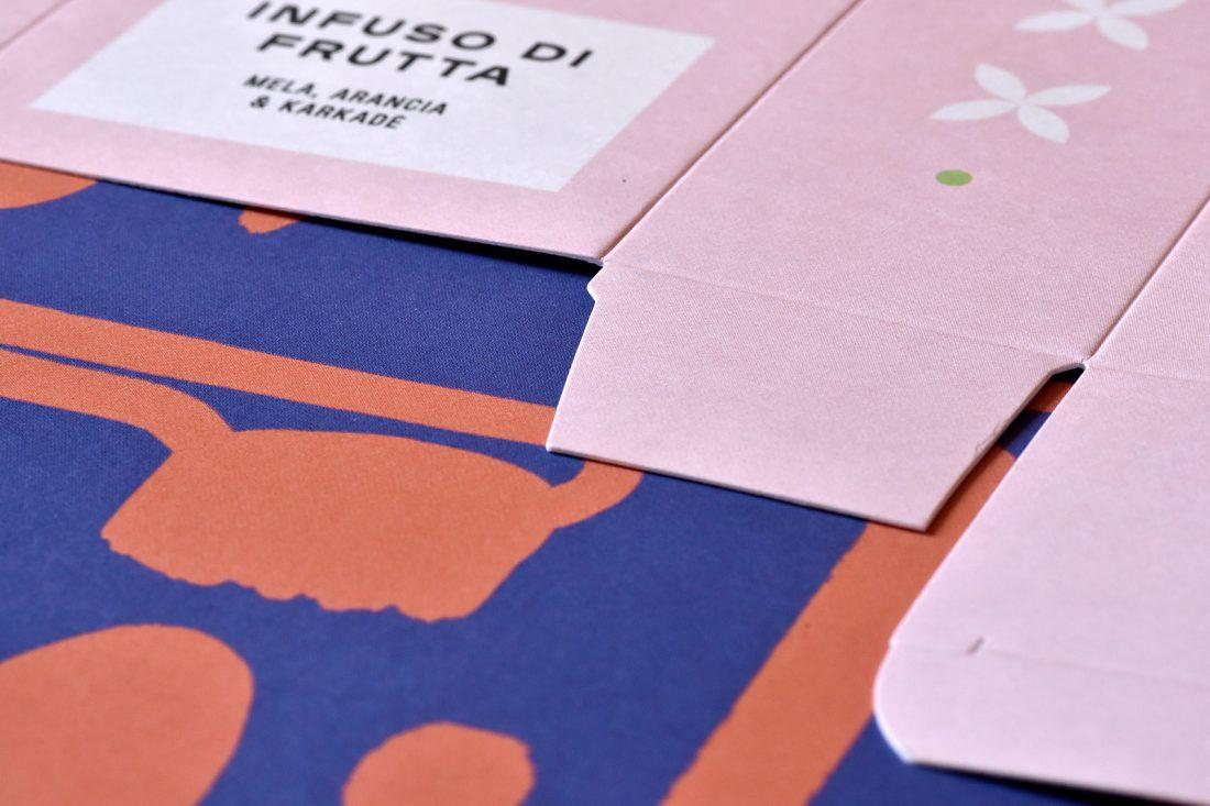 Il nuovo infuso Hoppípolla illustrato da Cecilia Cappelli