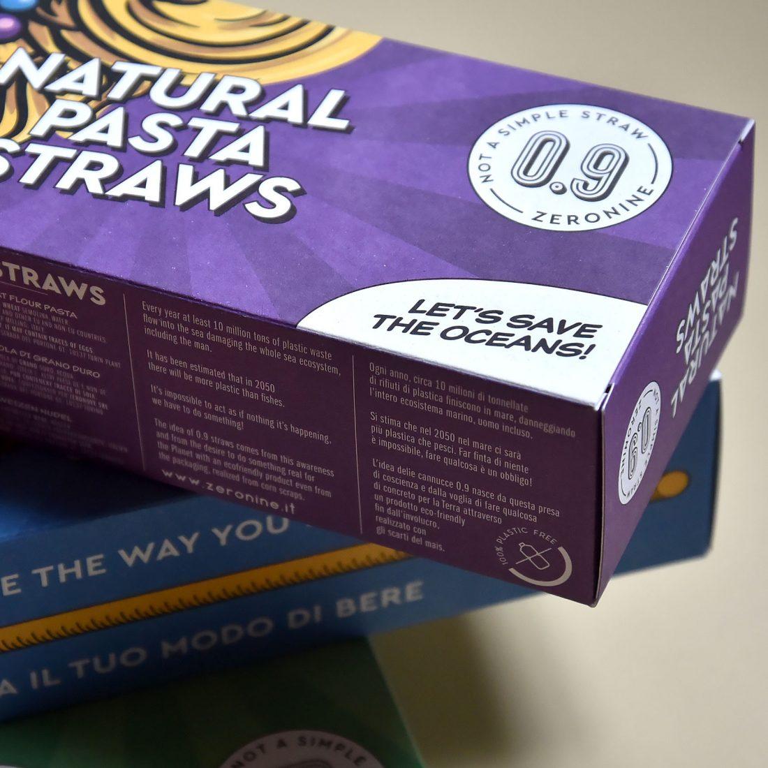 Natural Pasta Straw. Le cannucce di pasta prodotte da Zeronine