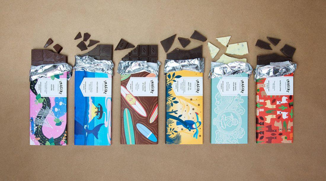 I packaging di tavolette di cioccolata che non oserete aprire