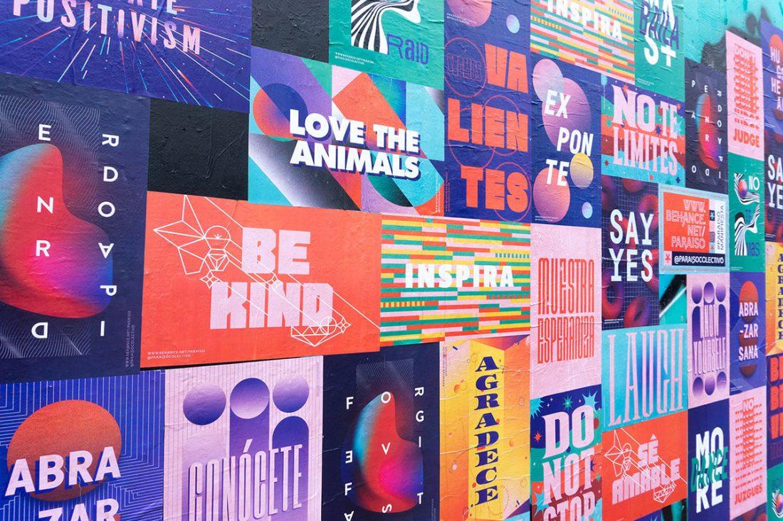 Paraíso Manifiesta. Un muro per i messaggi positivi e di speranza