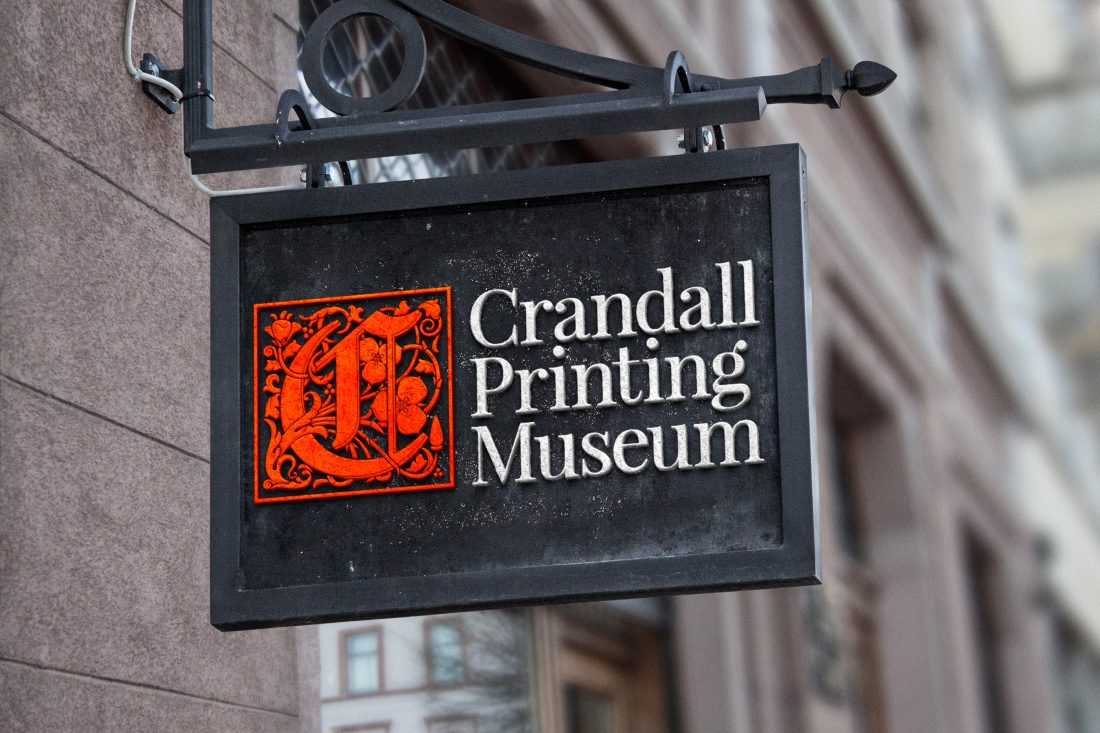 Crandall Printing Museum. Un nuovo logo per un museo unico al mondo