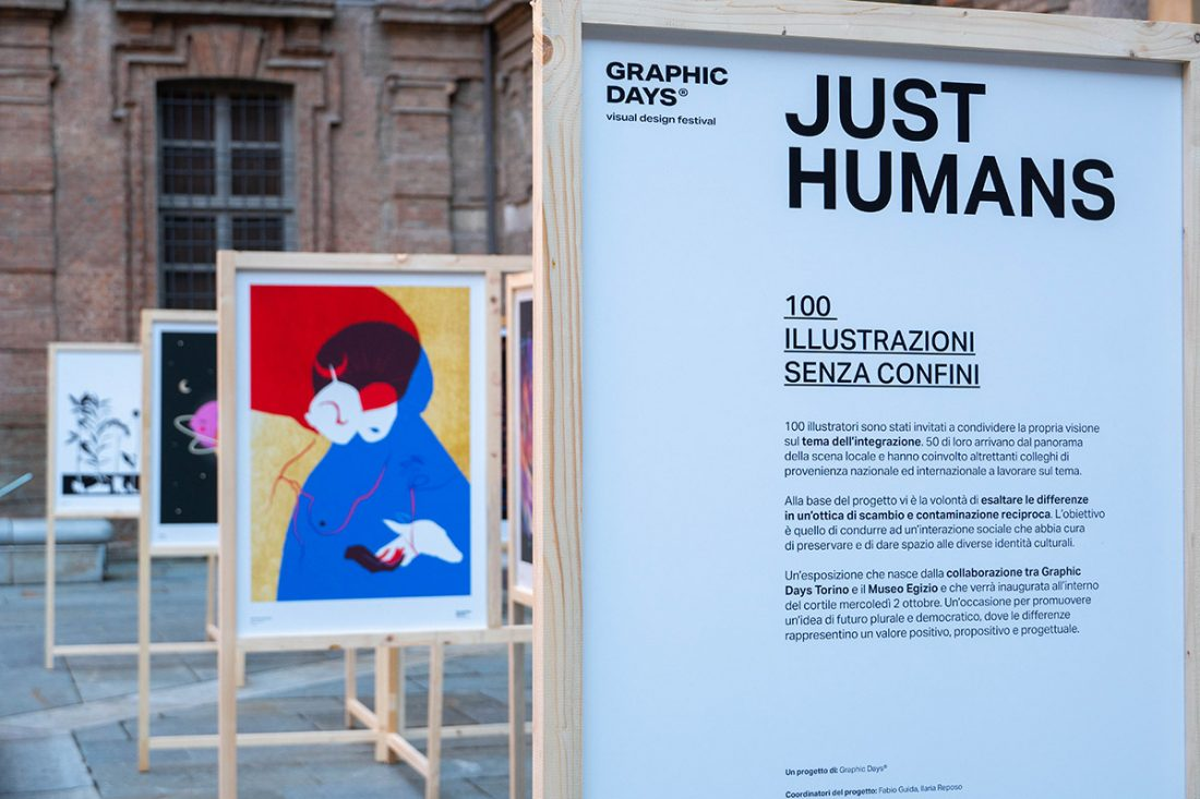 Just Humans. Il catalogo per la mostra dei Graphic Days Torino al Museo Egizio