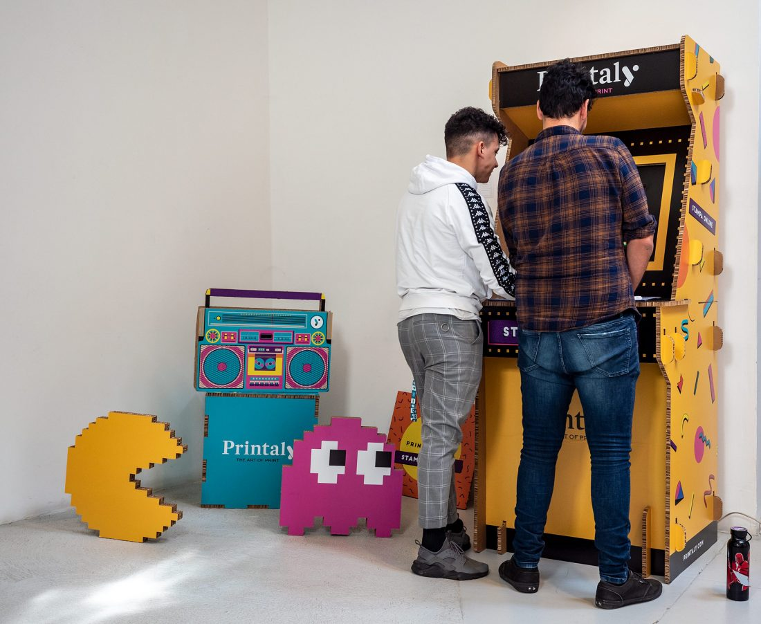Il videogioco arcade che ha fatto divertire ai Graphic Days Torino