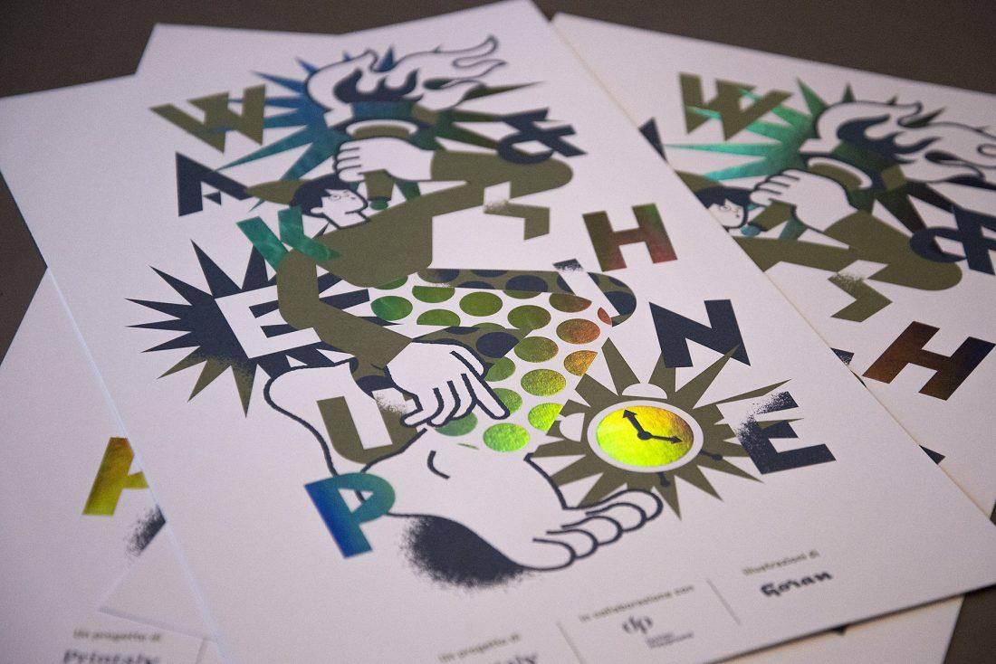 """Intervista a Marco Goran Romano autore del poster """"Wake up and shine"""""""