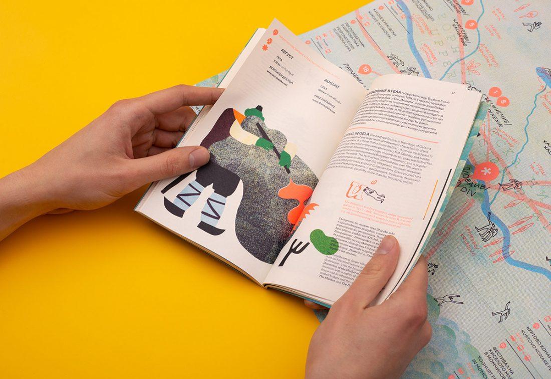 La coloratissima guida per il turismo di Plovdiv in 4 colori pantone