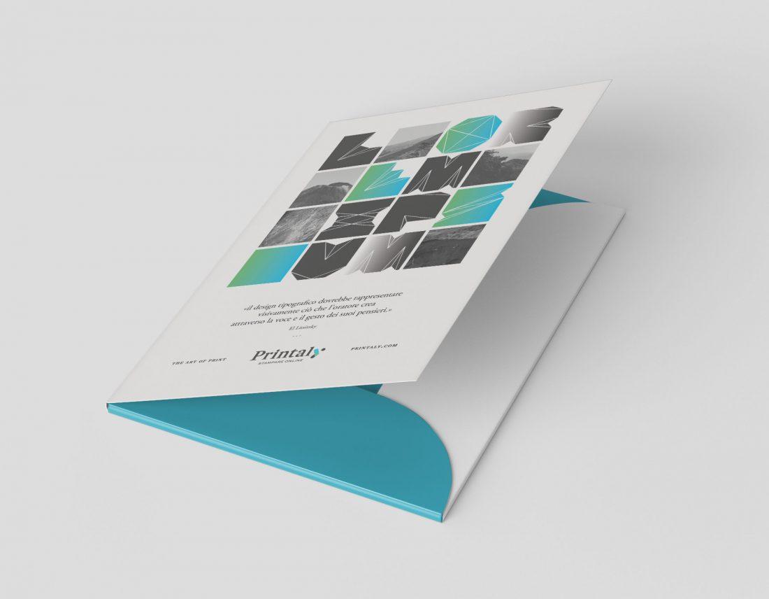 Cartelle di presentazione personalizzate per la tua azienda