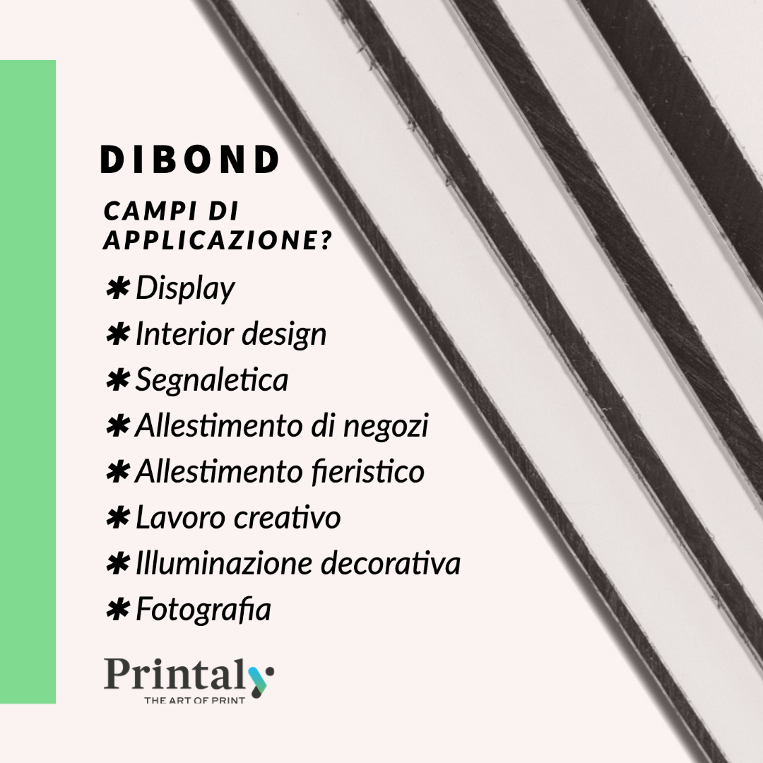 Dibond ®, ideale per la stampa digitale outdoor e indoor