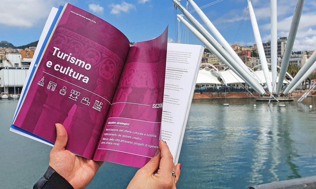Rilegatura PUR. L'esempio del Piano di Sviluppo Strategico di Genova.